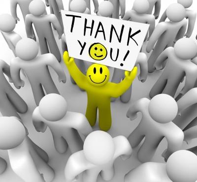 gratitude or geniune praise and appreciation