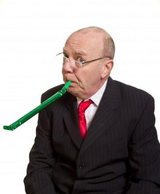 humourous senior executive